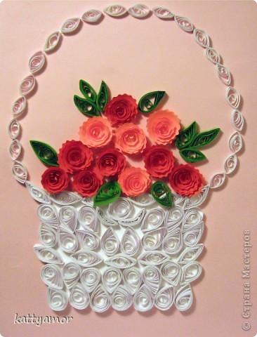 Увидев корзину роз Ольги Ольшак, сделали вот такую для преподавателя дочки.