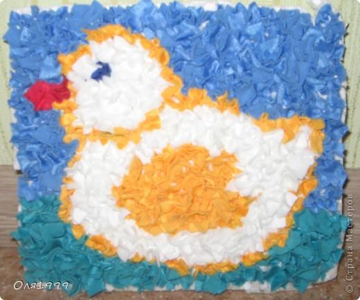 Мозайка из ткани фото 5