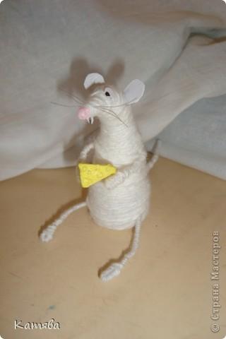 Вот такая крыска получилась. фото 2