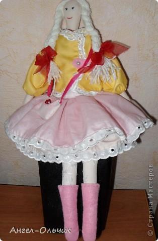 Кукол шила в качестве подарка на день рожденье своей подруге фото 1