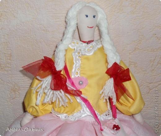Кукол шила в качестве подарка на день рожденье своей подруге фото 2