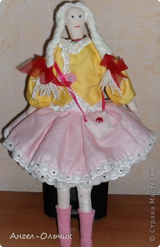 Кукол шила в качестве подарка на день рожденье своей подруге фото 4