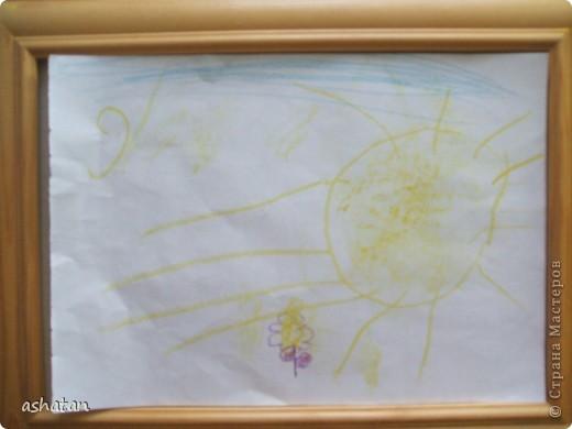 Рисунок восковыми мелками. Выполнено 17.10.2010г. фото 1