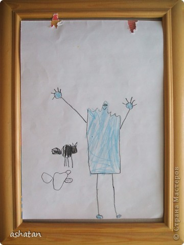 Начинаем потихоньку готовиться к Хэллуоину     Привидение и чёрная кошка - самостоятельный рисунок карандашами. Выполнено 22.10.2010г фото 1