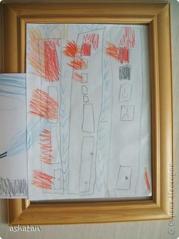 Поделка изделие Поделки для мальчиков Чрезвычайная ситуация Аппликация Рисование и живопись Поделки моего сыночка Пожарная тематика Бумага Карандаш фото 3
