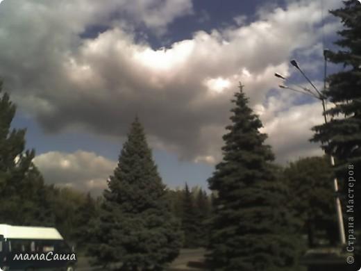 Конец сентября - о наступлении осени видно только по цвету неба. Может наша осень синяя? фото 4