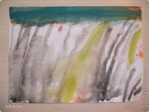 Рисунок восковыми мелками. Выполнено 17.10.2010г. фото 4