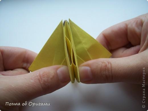 Подсолнухи как символ солнца и одновременно прощание с окончательно ушедшим от нас в этом году теплым летом. Этот чудесный оригами подсолнух придумала Нилва Пиллан (Италия). фото 18