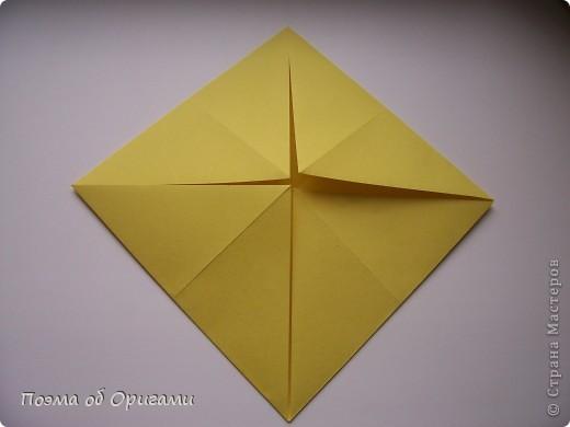 Подсолнухи как символ солнца и одновременно прощание с окончательно ушедшим от нас в этом году теплым летом. Этот чудесный оригами подсолнух придумала Нилва Пиллан (Италия). фото 3