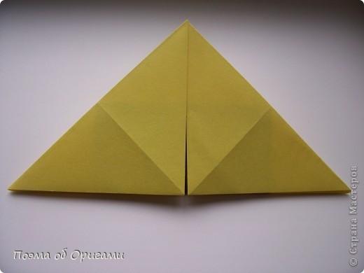 Подсолнухи как символ солнца и одновременно прощание с окончательно ушедшим от нас в этом году теплым летом. Этот чудесный оригами подсолнух придумала Нилва Пиллан (Италия). фото 6