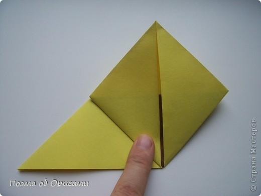 Подсолнухи как символ солнца и одновременно прощание с окончательно ушедшим от нас в этом году теплым летом. Этот чудесный оригами подсолнух придумала Нилва Пиллан (Италия). фото 8