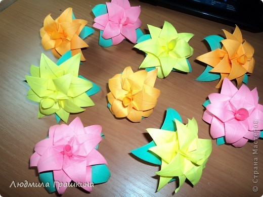 цветы для кусудамы фото 1
