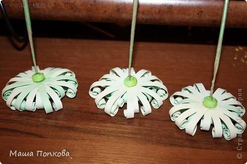 Нашла где-то далеко в интернете такие цветочки, правда там всё на японском... Поэтому с размерами немного... в общем немного от себе, немного от сайта:) А как их назвать? фото 14