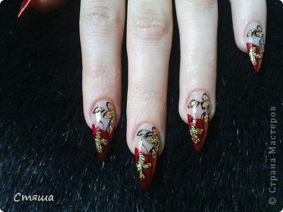 Здравствуйте! Заметила,что иногда в Стране появляются работы дизайна ногтей,хочу поделиться с Вами некоторыми своими работами. 1. фото 4
