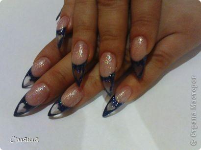 Здравствуйте! Заметила,что иногда в Стране появляются работы дизайна ногтей,хочу поделиться с Вами некоторыми своими работами. 1. фото 11