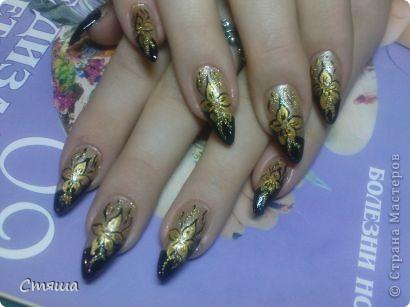 Здравствуйте! Заметила,что иногда в Стране появляются работы дизайна ногтей,хочу поделиться с Вами некоторыми своими работами. 1. фото 8