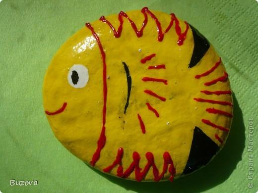 рисунки на камнях фото 3