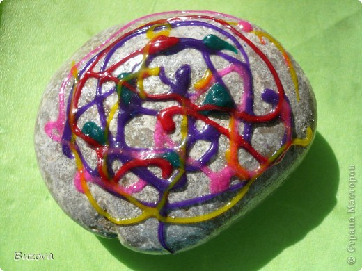 рисунки на камнях фото 4