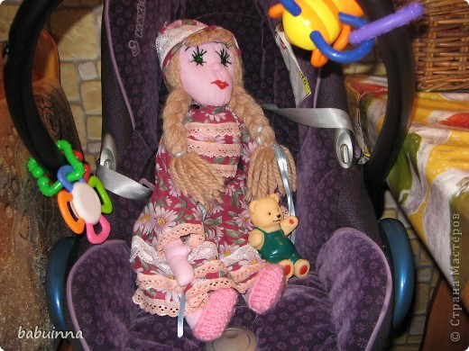 Кукла Маша- из сказки Маша и медведь. фото 4