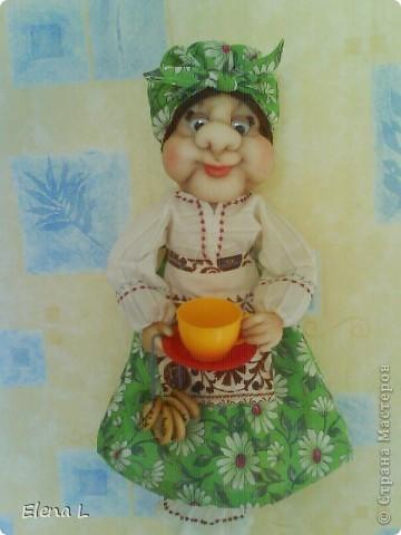 Тетя КЛАВА - кукла пакетница фото 1