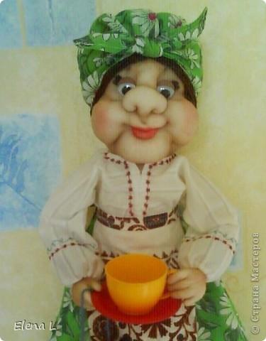 Тетя КЛАВА - кукла пакетница фото 2