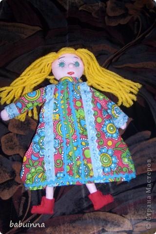 Кукла Маша- из сказки Маша и медведь. фото 1