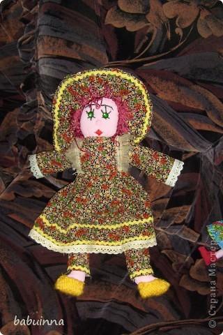 Кукла Маша- из сказки Маша и медведь. фото 2