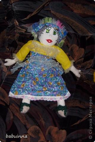 Кукла Маша- из сказки Маша и медведь. фото 3