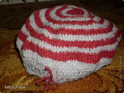 Моя первая шапочка))