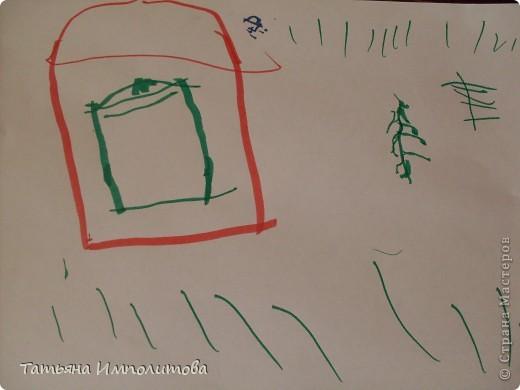Все работы сделаны за вчерашний день.Я нарисовала акварелью контур ёлочки,снеговика,звезду и морковку.София(2,10л)всё раскрасила и гуашью украсила ёлочку.Рисовали почти в десять вечера,ну а чем мы занимались весь день смотрите. фото 3