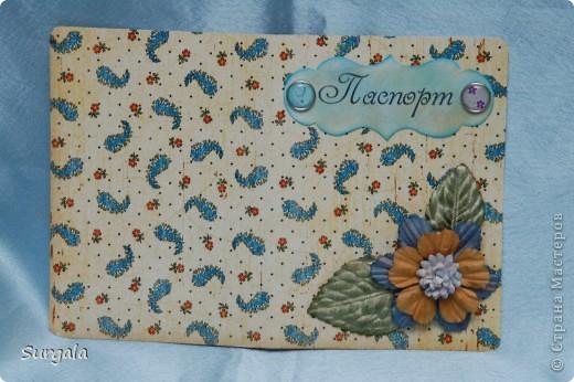 Обложка на паспорт в подарок на ДР родственнице-музыканту. фото 3