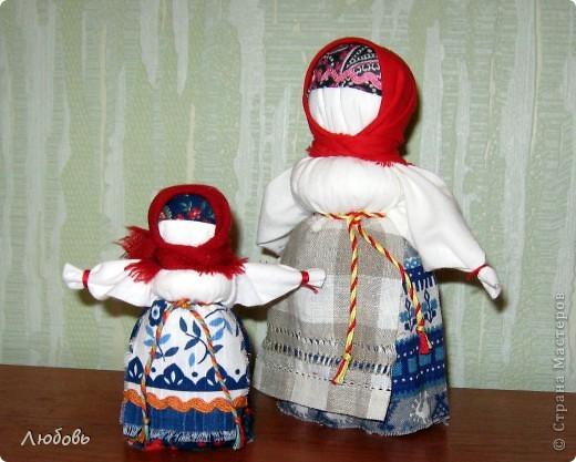 Как сделать куклу народного творчества