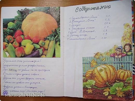"""Почти всю четверть мы посвятили теме """"Осень"""". К концу четверти родились вот такие книжки-малышки - самиздат))) фото 12"""
