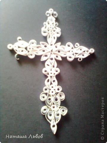 Вот такой крестик у меня получился... фото 1