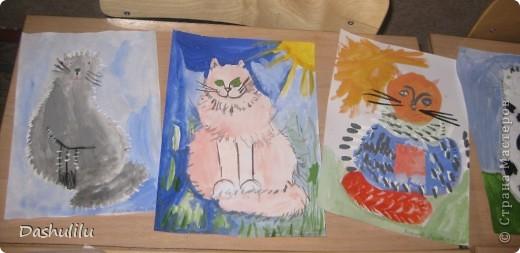 Разноцветные коты моих 7-леточек:) фото 2