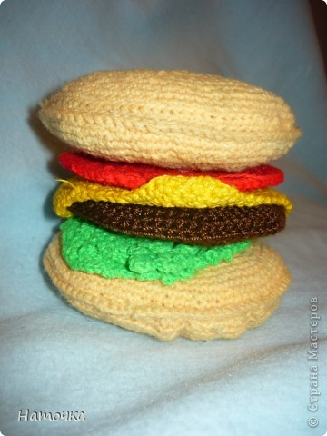 Вот такой  гамбургер фото 4