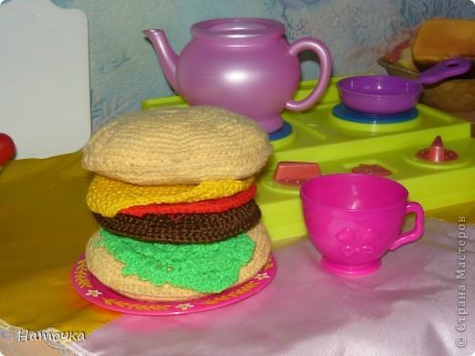 Вот такой  гамбургер фото 1