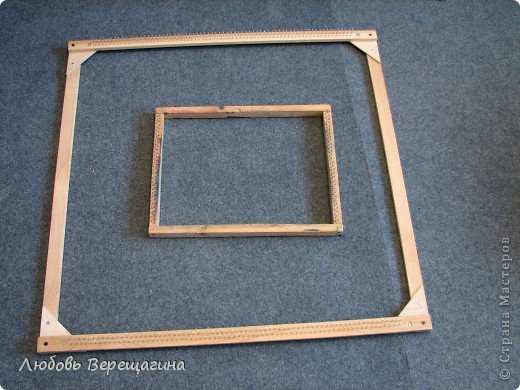размер рамки зависит от размера коврика фото 1