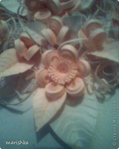 Букет нежных цветов для невесты. фото 4
