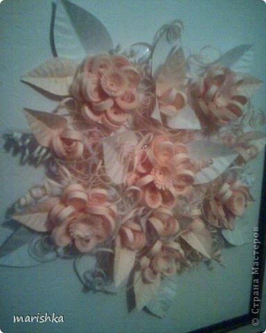 Букет нежных цветов для невесты. фото 3