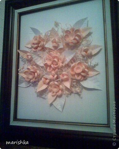 Букет нежных цветов для невесты. фото 2