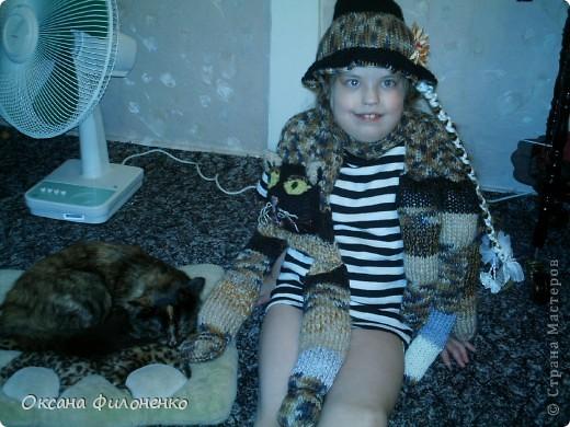 шарф-кот фото 3