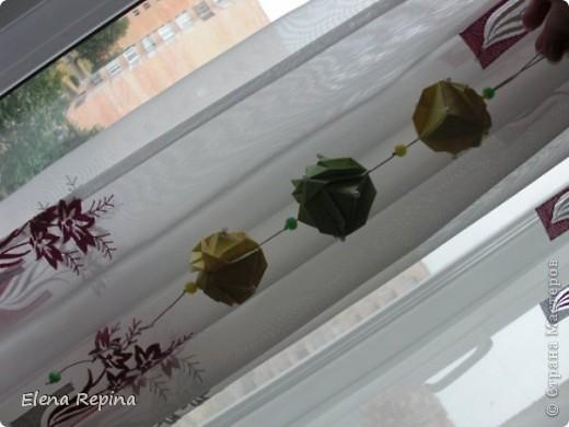 Кусудама «Японская капуста»  Автор - Minako Ishibashi фото 2
