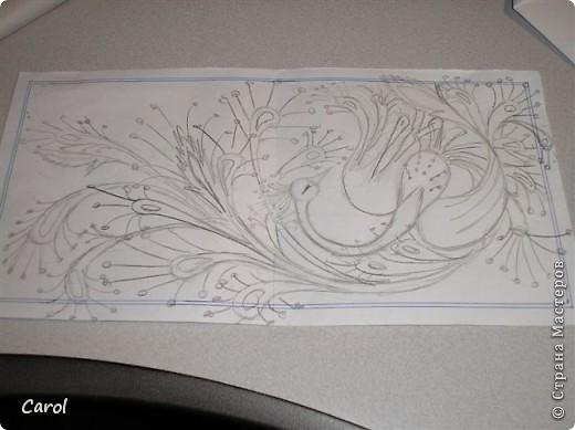 С чего начинаются мои батики? А вот с таких рисунков на каком-нибудь обрывке бумаги во время решения серьезных вопросов в долгом разговоре по телефону. фото 1