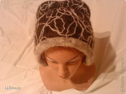 Вот такая теплая шапочка. фото 1