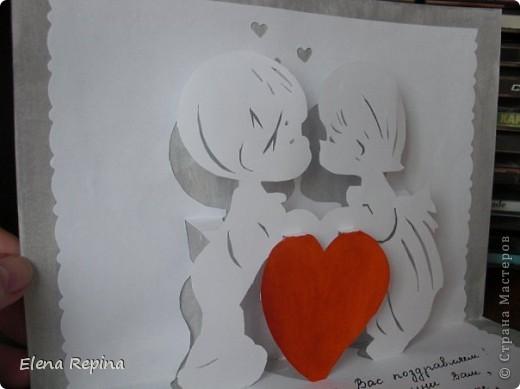 pop-up открытка брату на свадьбу фото 2