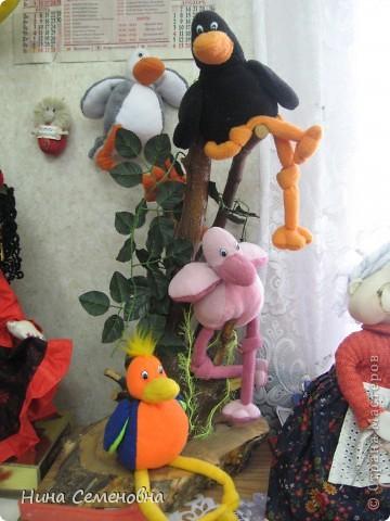 Птичий базар из серии игрушки узелки