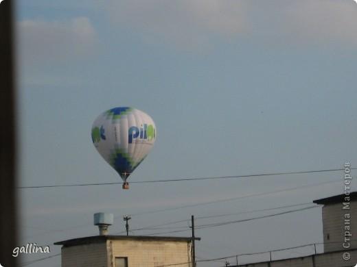 Увидала в окно воздушный шар. Не могла не поделиться такой диковиной. фото 2