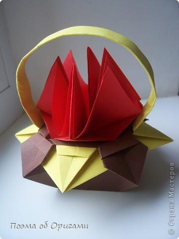 Несмотря на то, что бумага была изобретена в Китае, оригами не получило там такого распространения, как в Японии. В Китае существует совсем небольшой набор сложенных из бумаги изделий, которые можно для этой страны можно считать традиционными. Шанхайская ваза один из таких примеров. фото 1