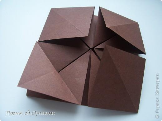 Несмотря на то, что бумага была изобретена в Китае, оригами не получило там такого распространения, как в Японии. В Китае существует совсем небольшой набор сложенных из бумаги изделий, которые можно для этой страны можно считать традиционными. Шанхайская ваза один из таких примеров. фото 10